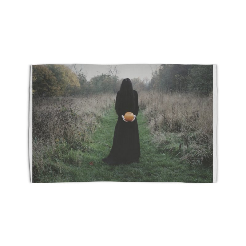 Queen Of Halloween Home Rug by True To My Wyrd's Artist Shop