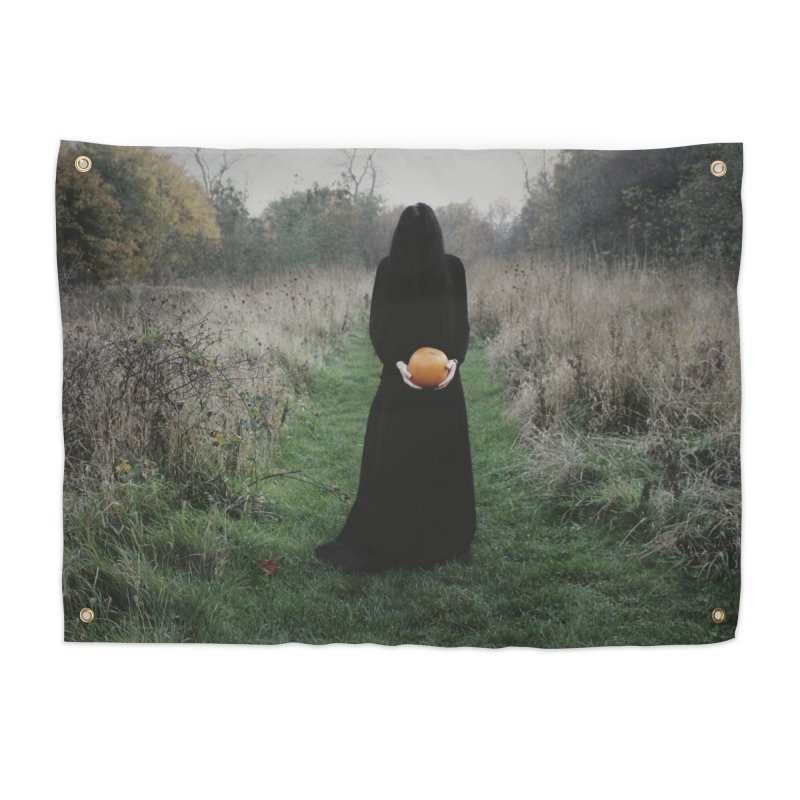 Queen Of Halloween Home Tapestry by True To My Wyrd's Artist Shop
