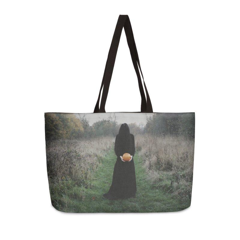 Queen Of Halloween Accessories Weekender Bag Bag by True To My Wyrd's Artist Shop