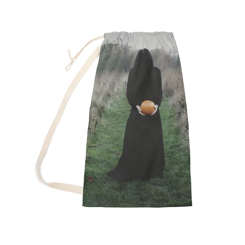 Queen Of Halloween Accessories Laundry Bag Bag by True To My Wyrd's Artist Shop