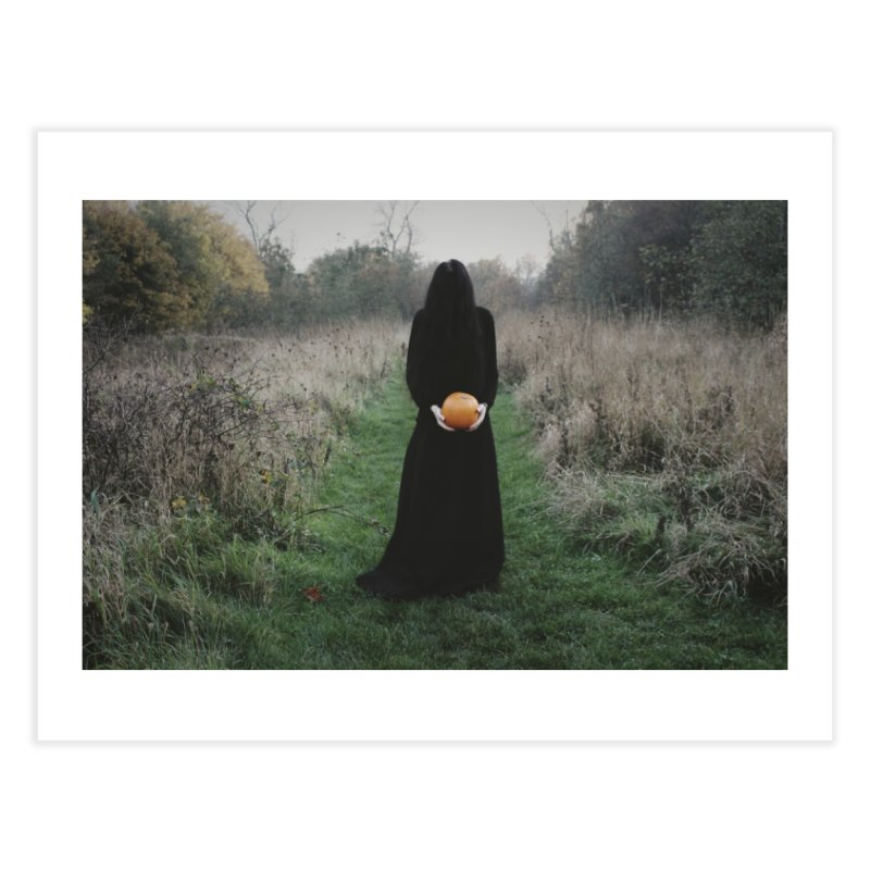 Queen Of Halloween Home Fine Art Print by True To My Wyrd's Artist Shop