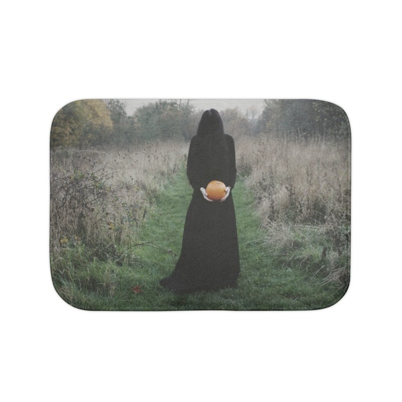 Queen Of Halloween Home Bath Mat by True To My Wyrd's Artist Shop