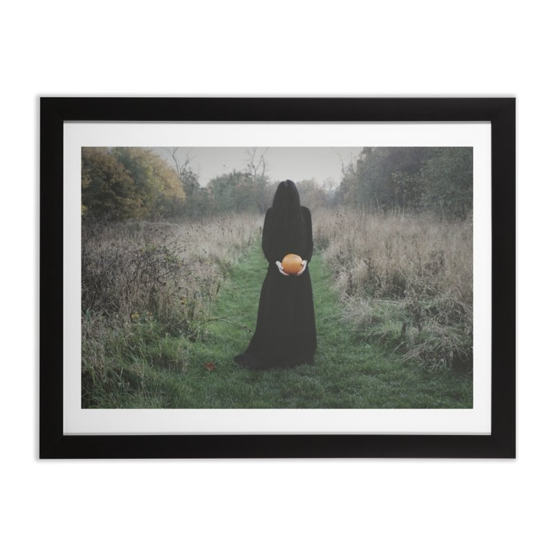 Queen Of Halloween Home Framed Fine Art Print by True To My Wyrd's Artist Shop