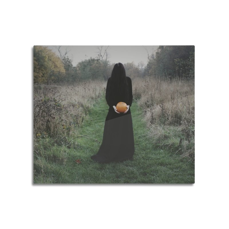 Queen Of Halloween Home Mounted Aluminum Print by True To My Wyrd's Artist Shop