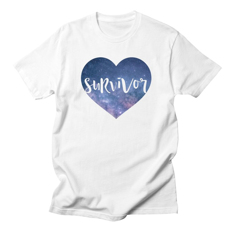 Survivor Men's T-Shirt by True Words's Artist Shop