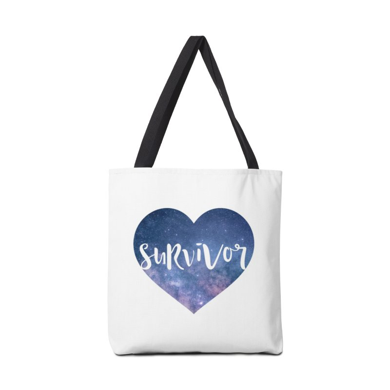 Survivor Accessories Tote Bag Bag by True Words's Artist Shop
