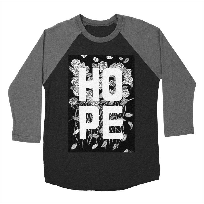 Hope Men's Baseball Triblend Longsleeve T-Shirt by True Words's Artist Shop