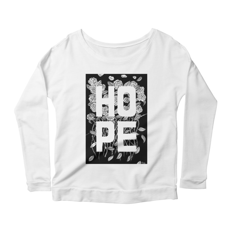 Hope Women's Longsleeve T-Shirt by True Words's Artist Shop