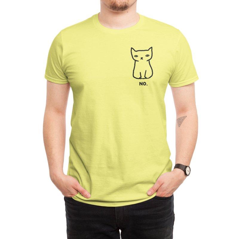 NO. Men's T-Shirt by TRUFFLEPIG