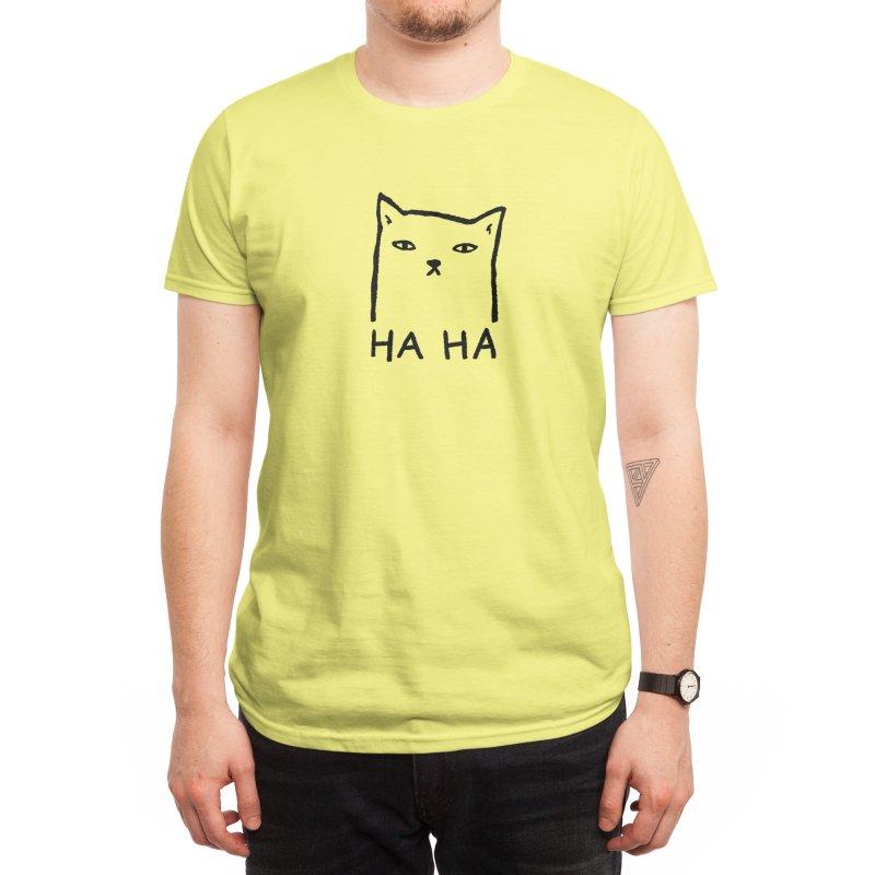 HA HA Men's T-Shirt by TRUFFLEPIG