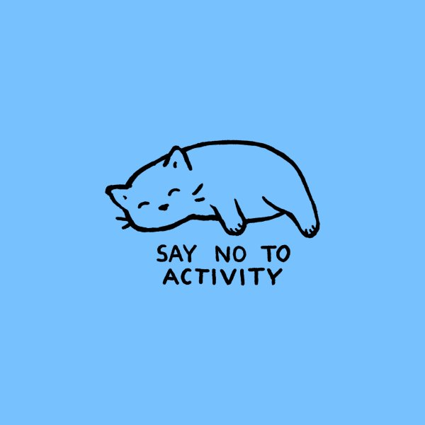 image for SAY NO TO ACTIVITY