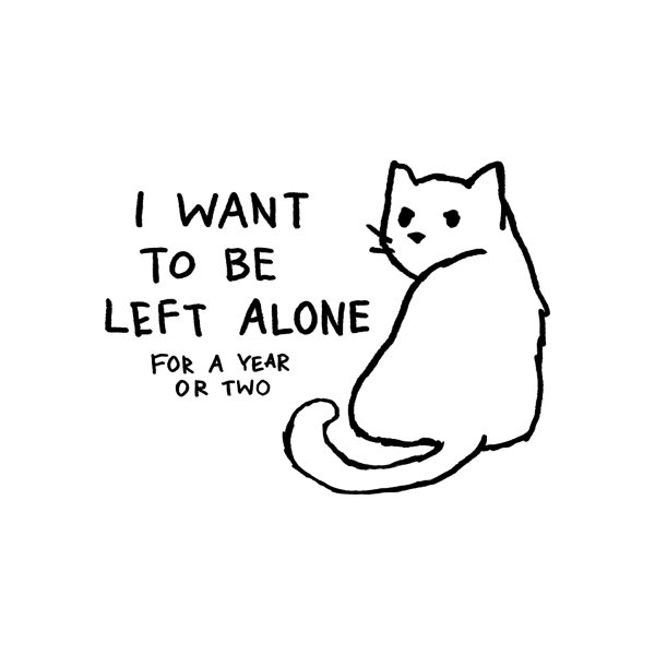 image for I want to be left alone