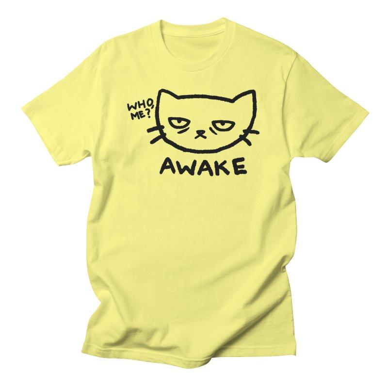 Awake - Who, me? Men's T-Shirt by TRUFFLEPIG