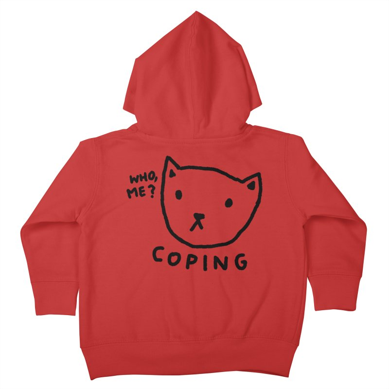 Coping Kids Toddler Zip-Up Hoody by TRUFFLEPIG