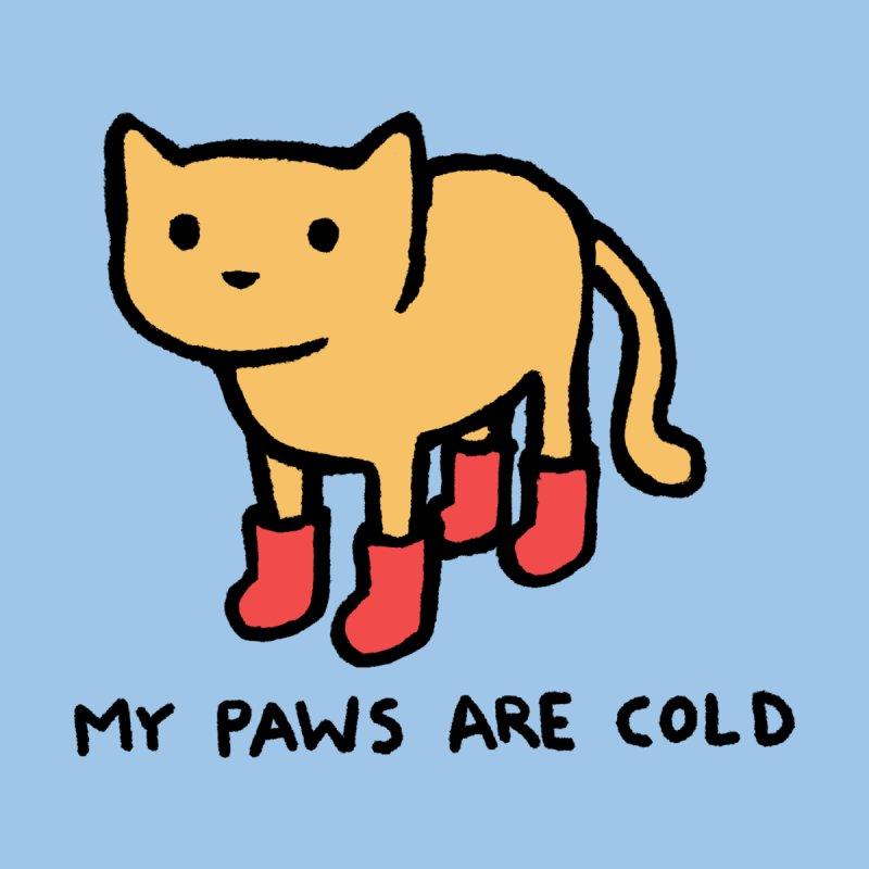 My Paws Are Cold Men's T-Shirt by TRUFFLEPIG