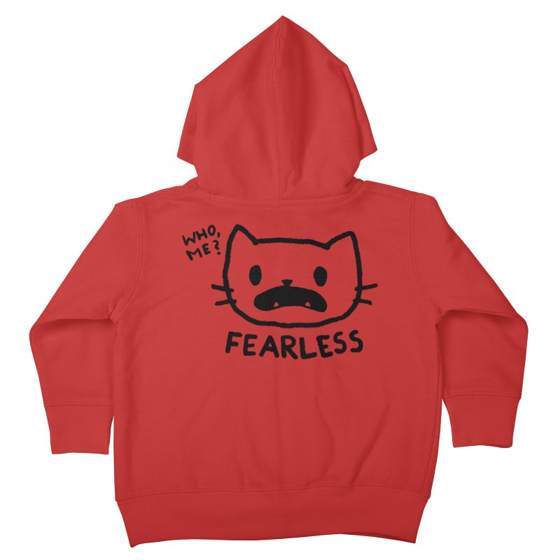 Fearless - Who, Me? Kids Toddler Zip-Up Hoody by TRUFFLEPIG