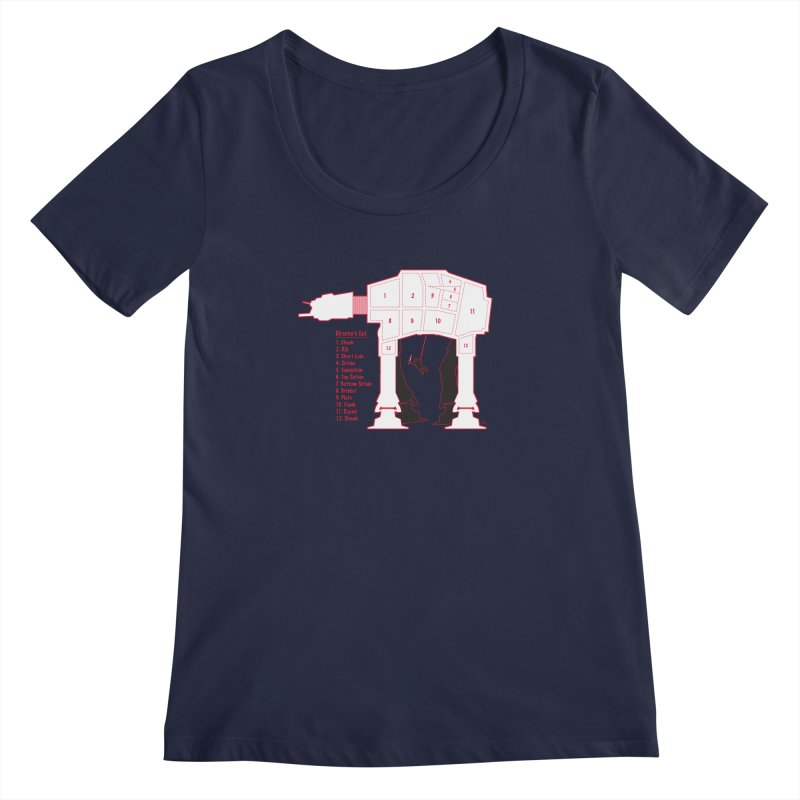 The Director's Cut Women's Scoopneck by Trulyfunky Shop @ Threadless!