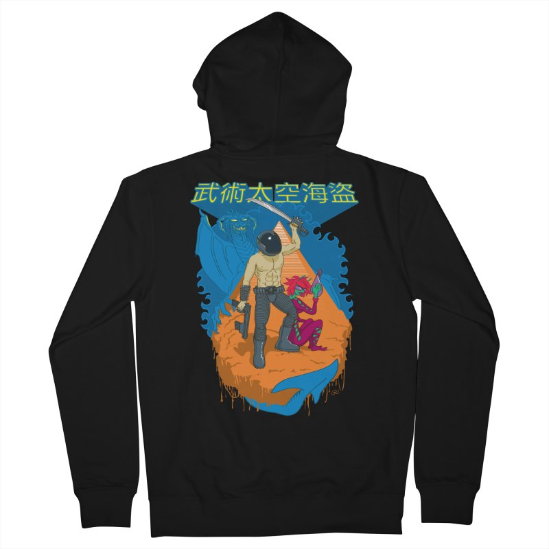 Wushu Space Pirates™ Men's Zip-Up Hoody by Trulyfunky Shop @ Threadless!
