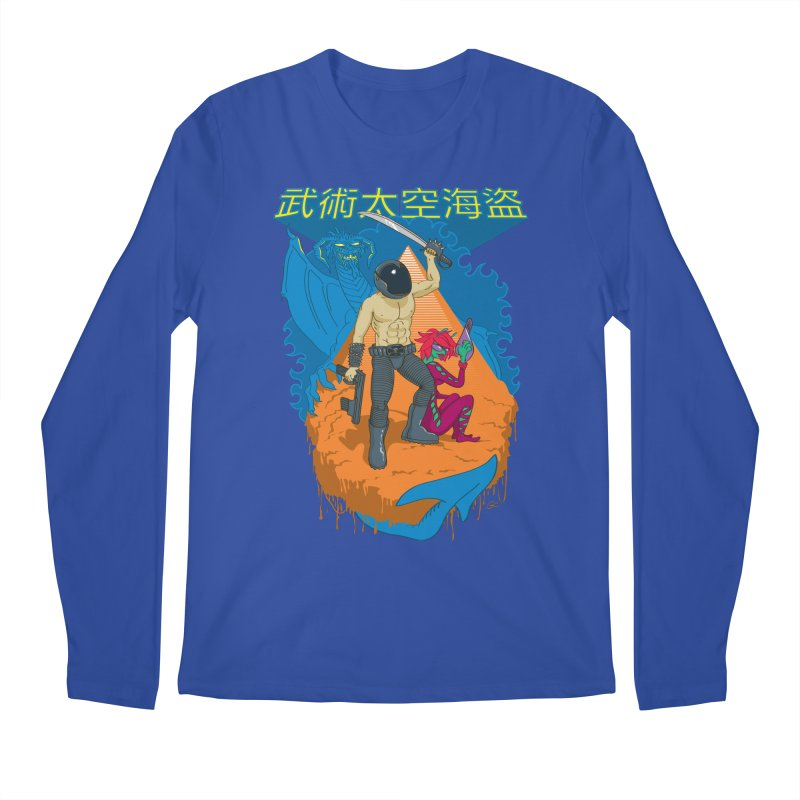 Wushu Space Pirates™ Men's Longsleeve T-Shirt by Trulyfunky Shop @ Threadless!