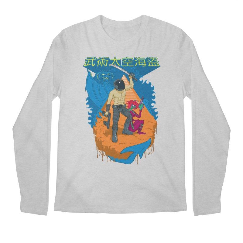 Wushu Space Pirates™ Men's Longsleeve T-Shirt by Trulyfunky Shop @ Threadless!