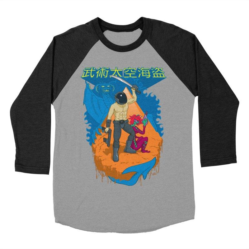 Wushu Space Pirates™ Women's Baseball Triblend T-Shirt by Trulyfunky Shop @ Threadless!