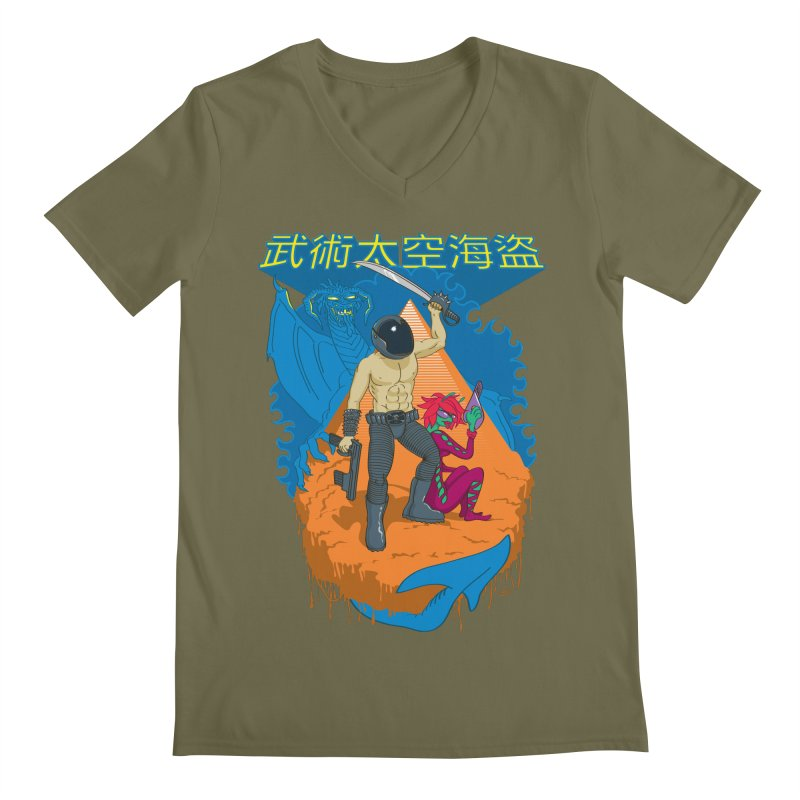 Wushu Space Pirates™ Men's V-Neck by Trulyfunky Shop @ Threadless!