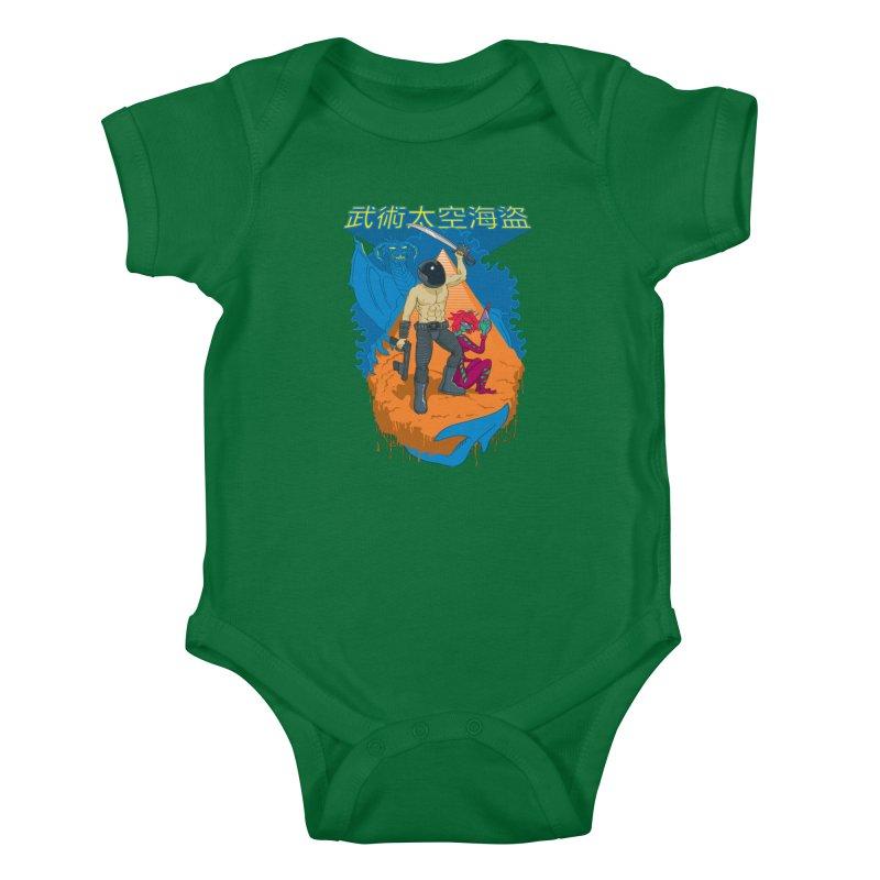 Wushu Space Pirates™ Kids Baby Bodysuit by Trulyfunky Shop @ Threadless!