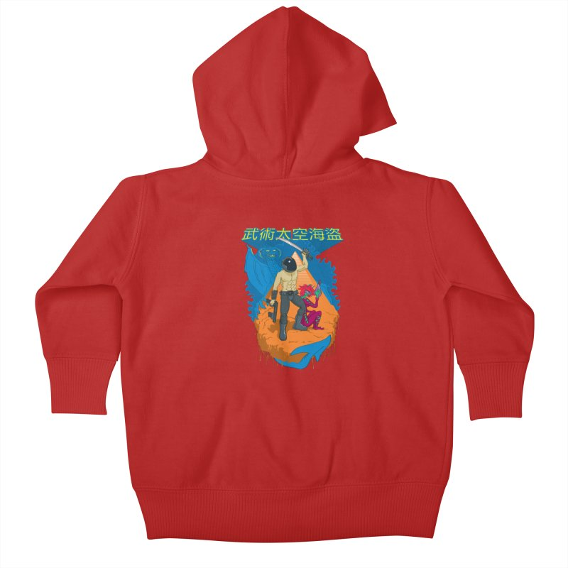 Wushu Space Pirates™ Kids Baby Zip-Up Hoody by Trulyfunky Shop @ Threadless!