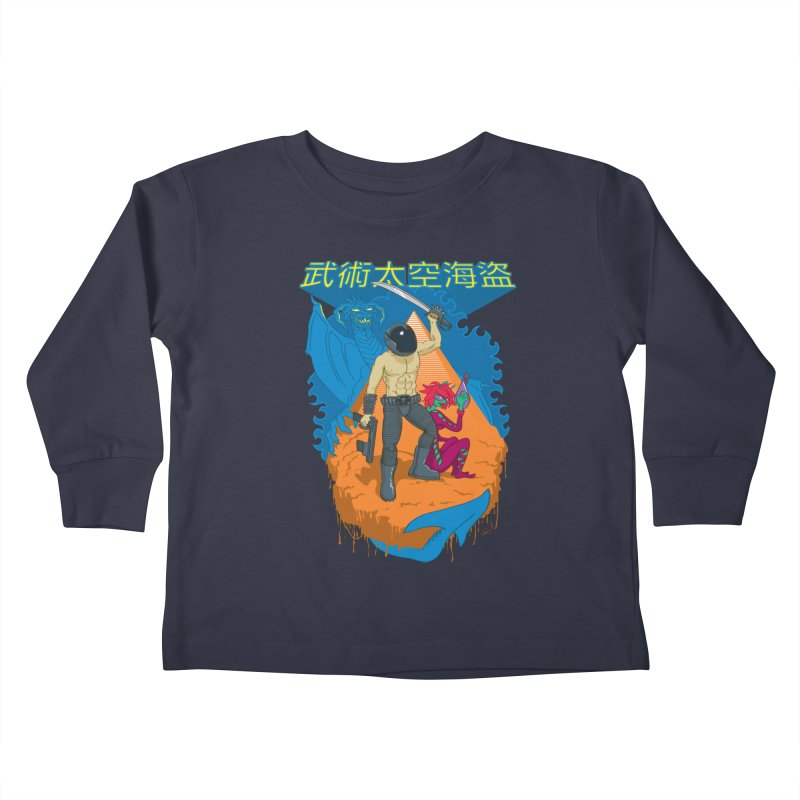 Wushu Space Pirates™ Kids Toddler Longsleeve T-Shirt by Trulyfunky Shop @ Threadless!