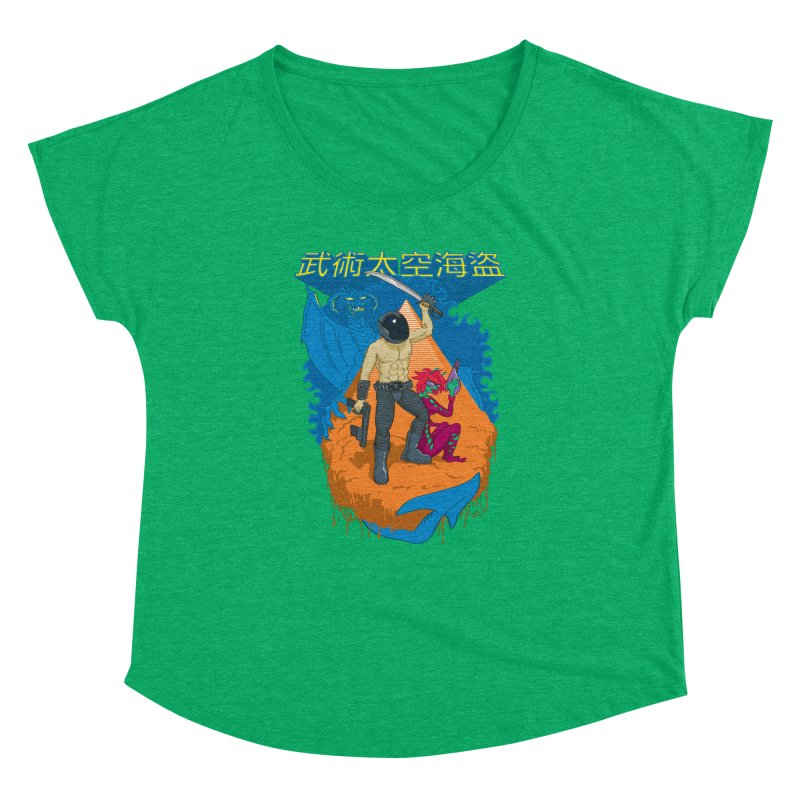 Wushu Space Pirates™ Women's Dolman by Trulyfunky Shop @ Threadless!