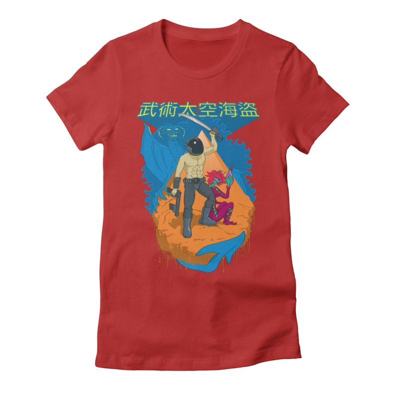 Wushu Space Pirates™ Women's Fitted T-Shirt by Trulyfunky Shop @ Threadless!