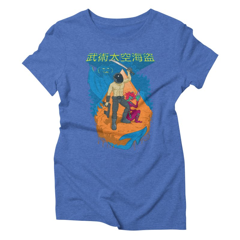 Wushu Space Pirates™ Women's Triblend T-shirt by Trulyfunky Shop @ Threadless!