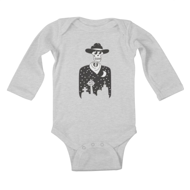 I Shot The Sheriff Kids Baby Longsleeve Bodysuit by Trulyfunky Shop @ Threadless!