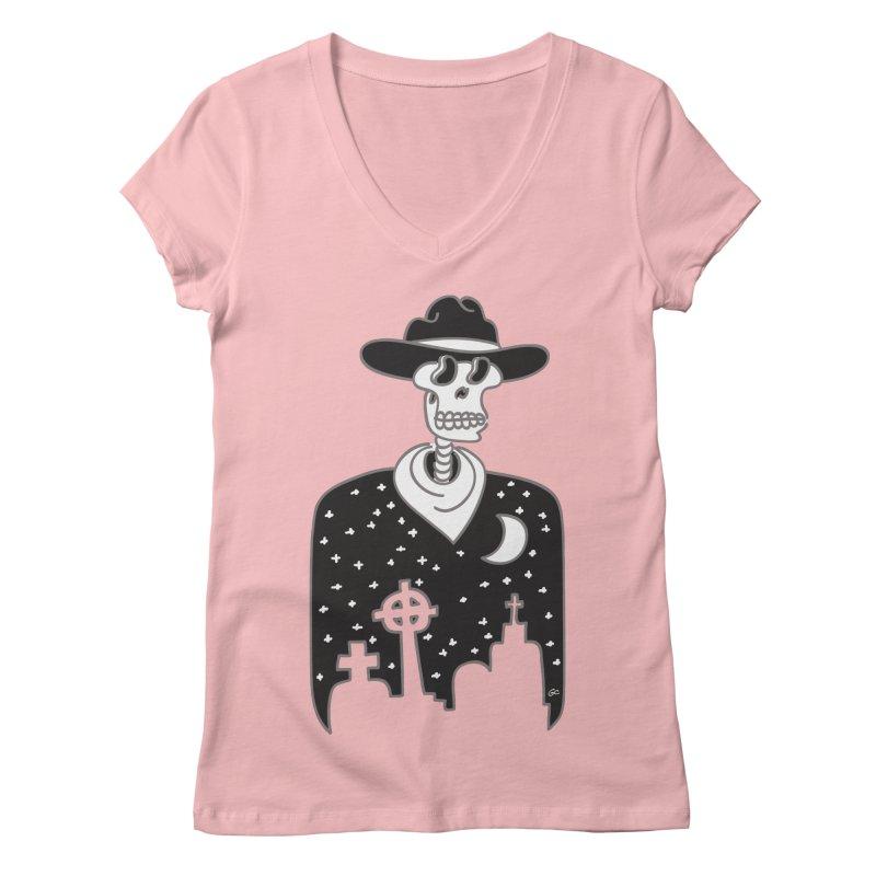 I Shot The Sheriff Women's V-Neck by Trulyfunky Shop @ Threadless!