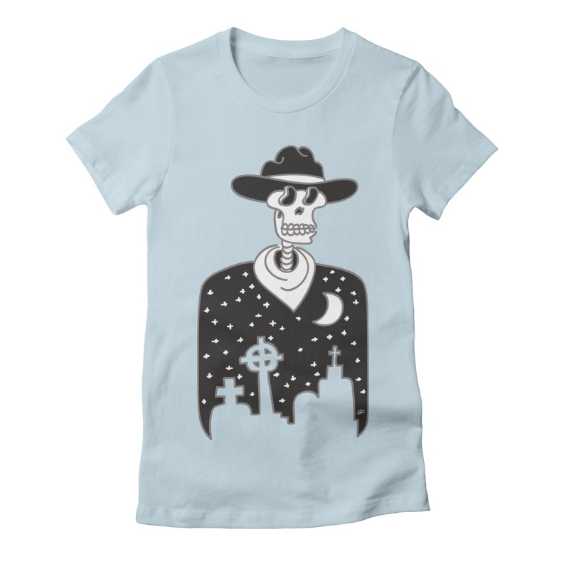 I Shot The Sheriff Women's Fitted T-Shirt by Trulyfunky Shop @ Threadless!