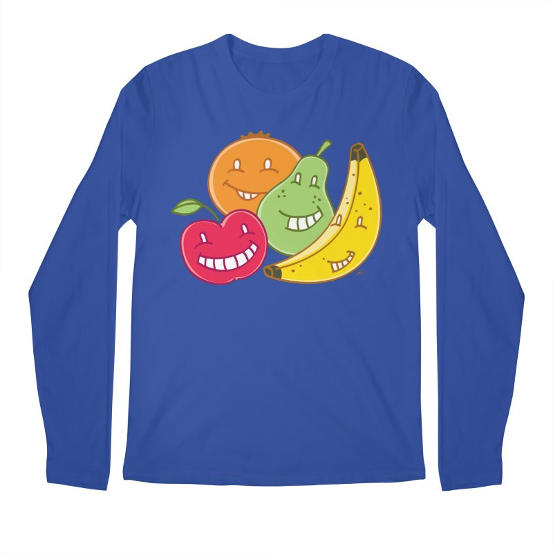 The Fruit Bunch™ Men's Longsleeve T-Shirt by Trulyfunky Shop @ Threadless!
