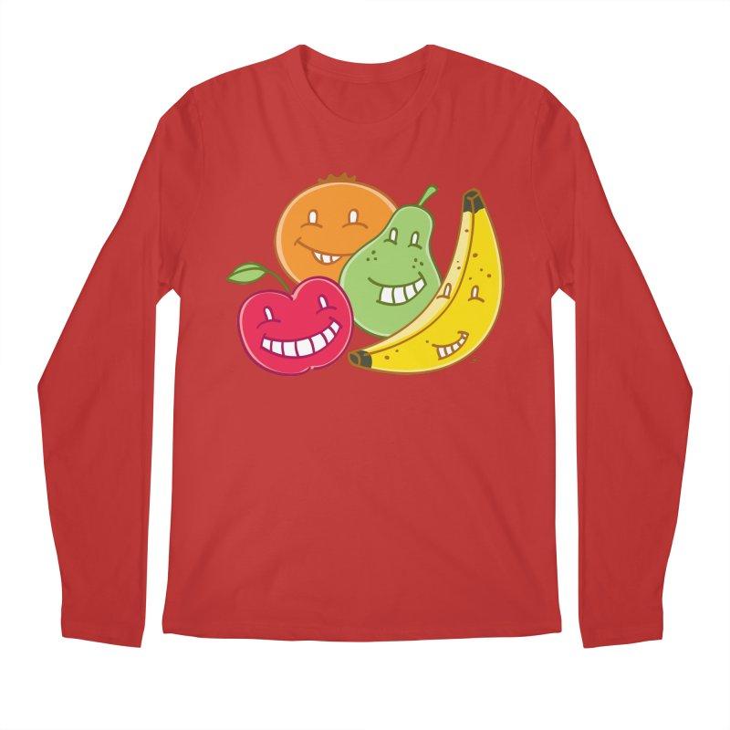 The Fruit Bunch™ Men's Longsleeve T-Shirt by Trulyfunky Shop @ Threadless!