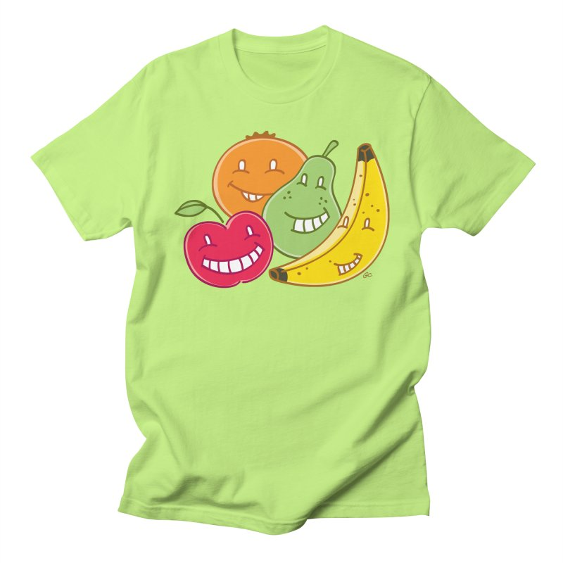 The Fruit Bunch™ in Men's T-Shirt Neon Green by Trulyfunky Shop @ Threadless!
