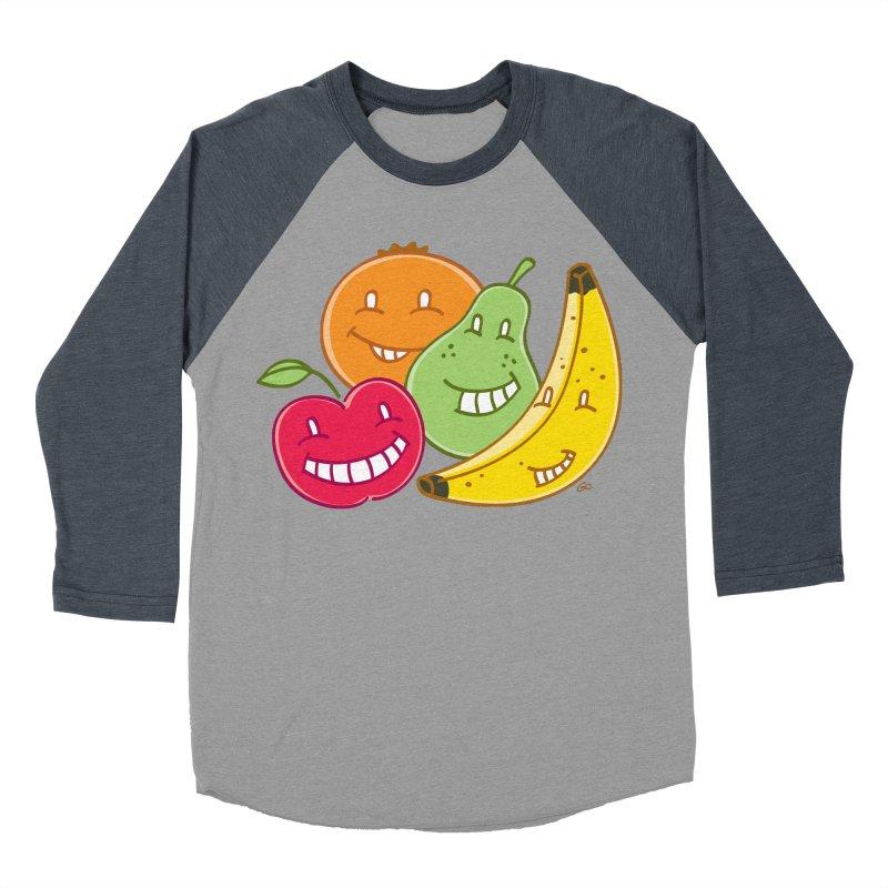 The Fruit Bunch™ Men's Baseball Triblend T-Shirt by Trulyfunky Shop @ Threadless!