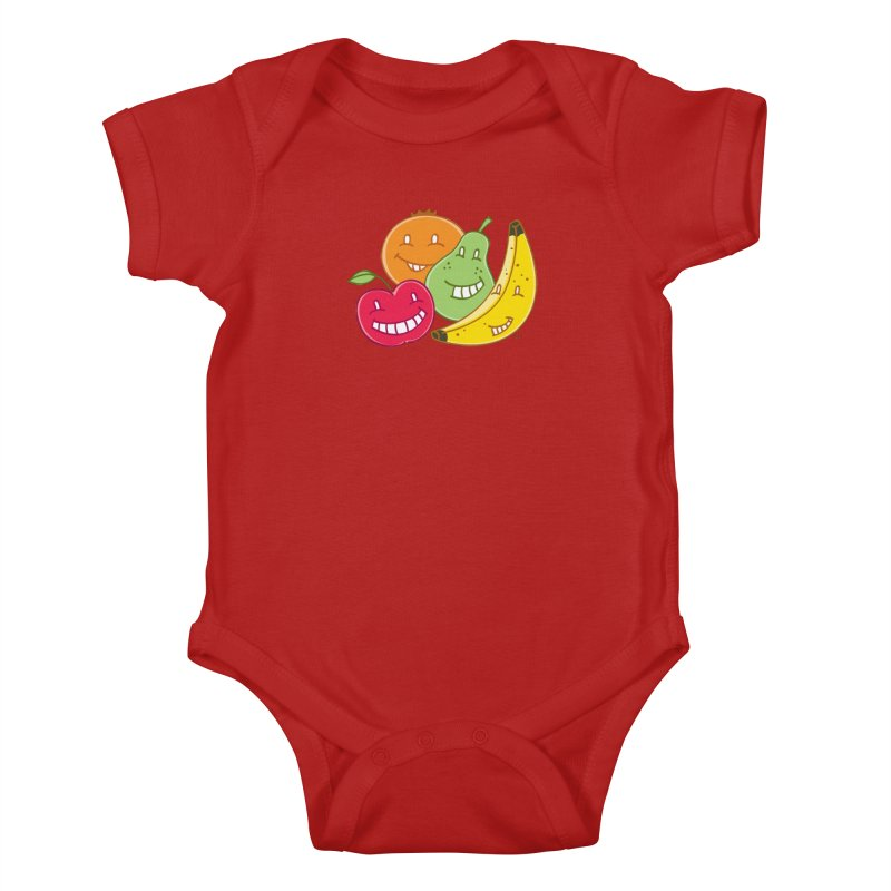 The Fruit Bunch™ Kids Baby Bodysuit by Trulyfunky Shop @ Threadless!