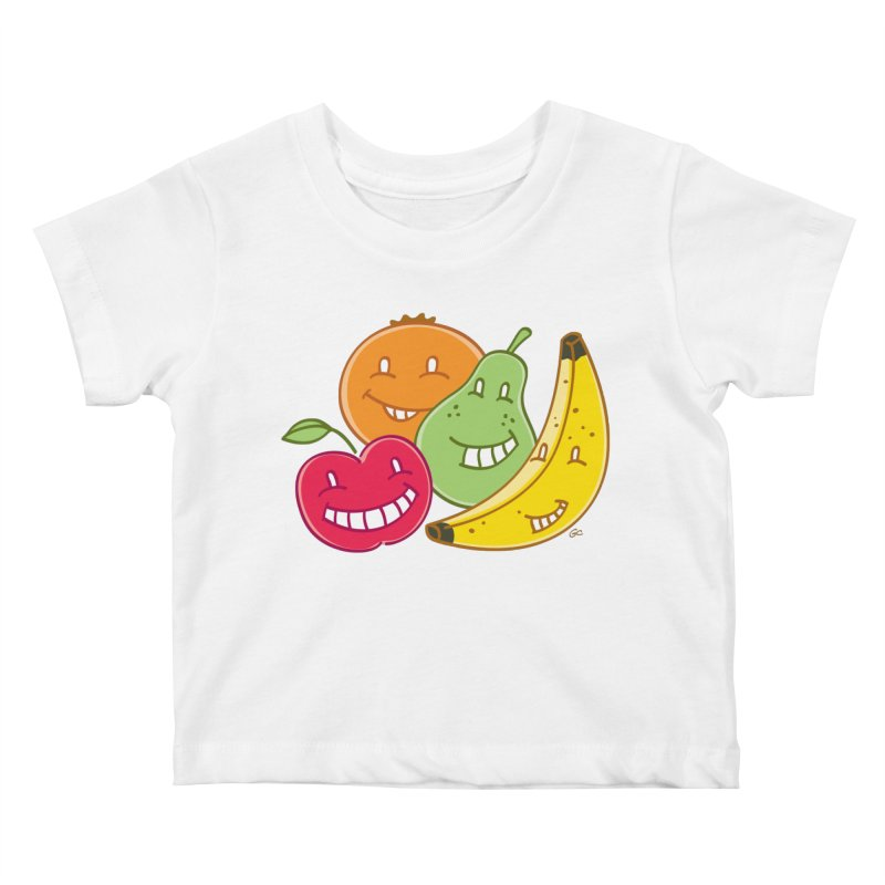 The Fruit Bunch™ Kids Baby T-Shirt by Trulyfunky Shop @ Threadless!