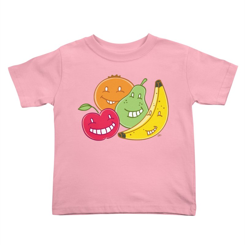 The Fruit Bunch™ in Kids Toddler T-Shirt Light Pink by Trulyfunky Shop @ Threadless!