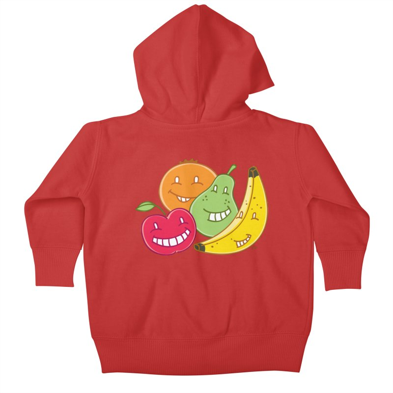 The Fruit Bunch™ Kids Baby Zip-Up Hoody by Trulyfunky Shop @ Threadless!