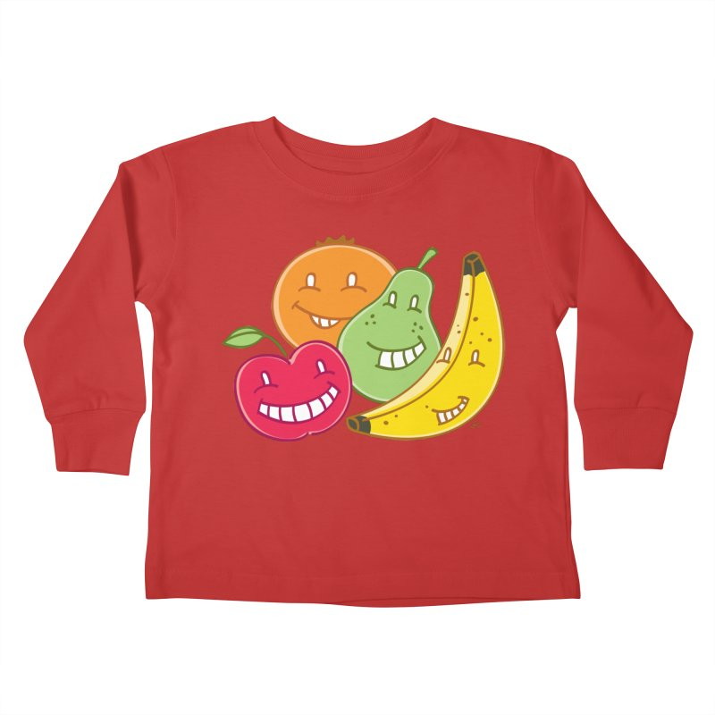 The Fruit Bunch™ Kids Toddler Longsleeve T-Shirt by Trulyfunky Shop @ Threadless!
