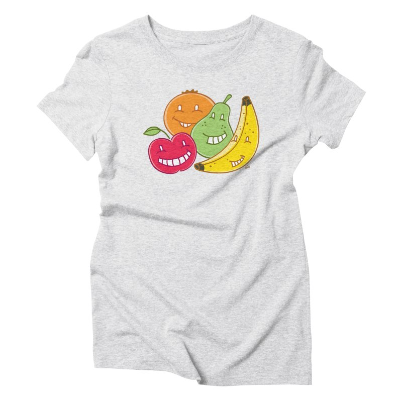 The Fruit Bunch™ Women's Triblend T-shirt by Trulyfunky Shop @ Threadless!