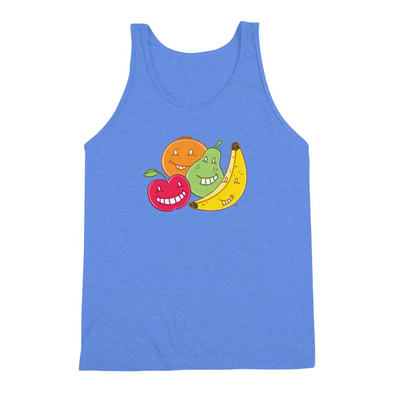 The Fruit Bunch™ Men's Triblend Tank by Trulyfunky Shop @ Threadless!
