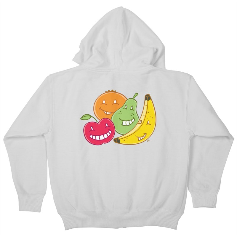 The Fruit Bunch™ Kids Zip-Up Hoody by Trulyfunky Shop @ Threadless!