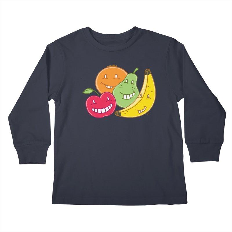 The Fruit Bunch™ Kids Longsleeve T-Shirt by Trulyfunky Shop @ Threadless!