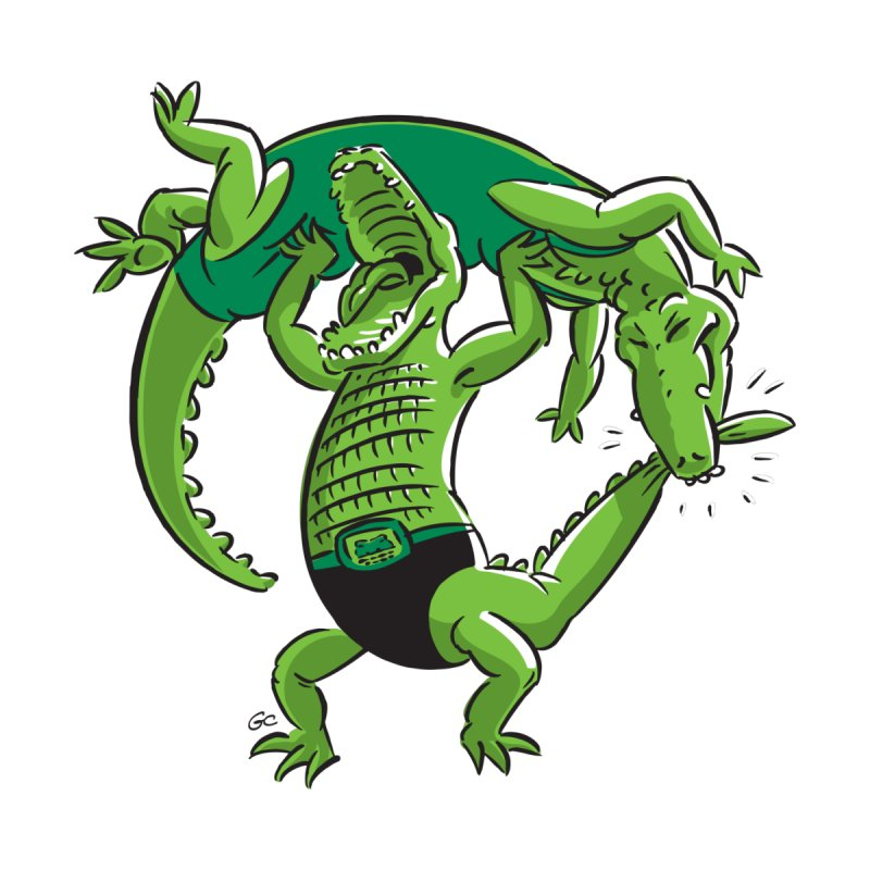 Alligator Wrestling Women's Muscle Tank by Trulyfunky Shop @ Threadless!
