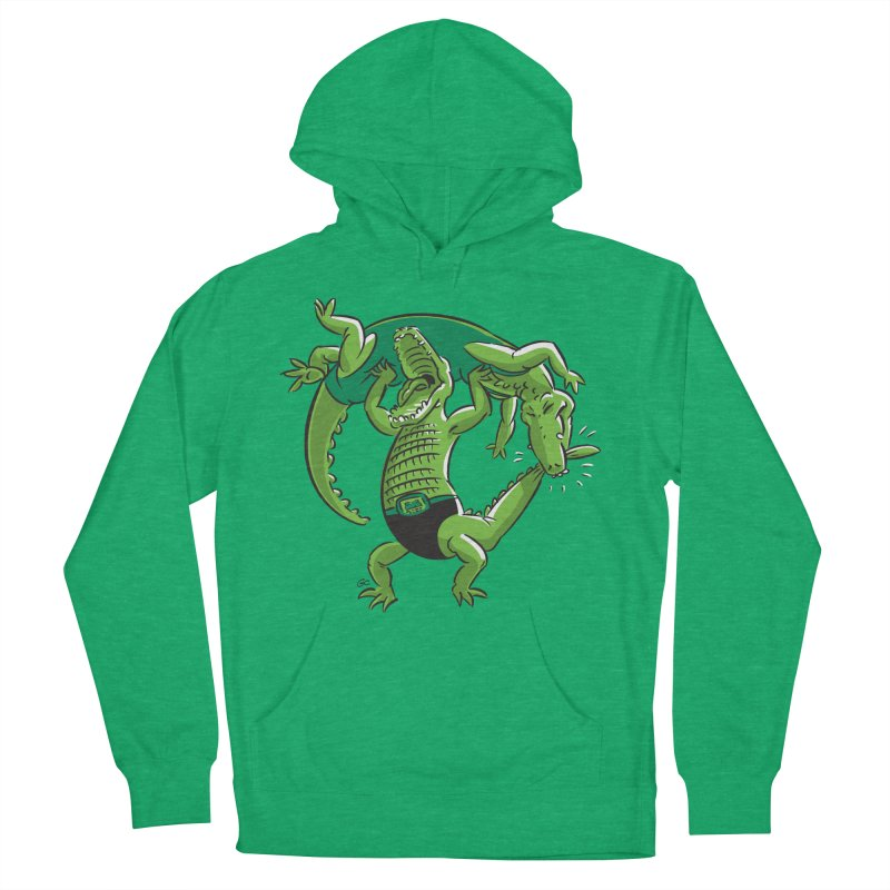 Alligator Wrestling Women's Pullover Hoody by Trulyfunky Shop @ Threadless!